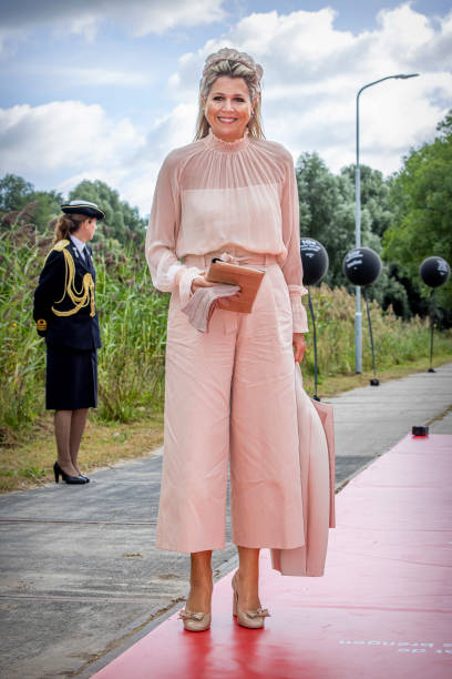 NLD: Queen Maxima Of The Netherlands Opens Superfast Computer Snellius In Amsterdam