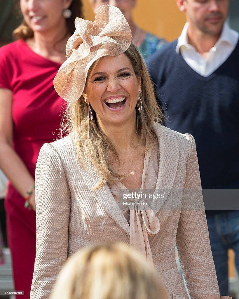 Queen Maxima of the Netherlands Opens Kentalis Research And Education Centre
