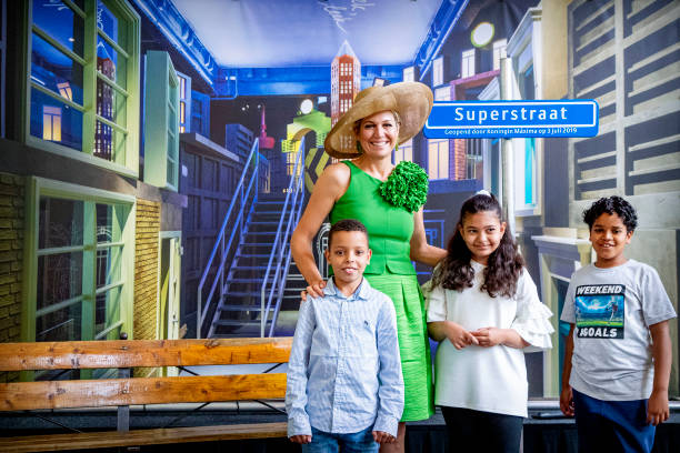 NLD: Queen Maxima Opens Supersteet Children Exhibition At World Museum In Rotterdam