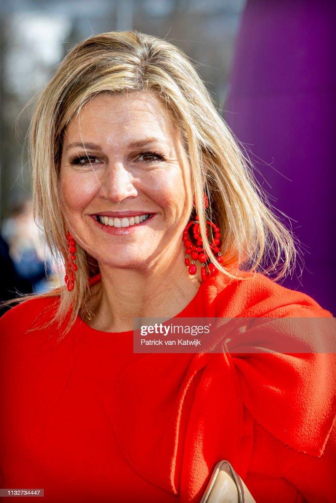 NLD: Queen Maxima Of The Netherlands Opens Week Of Money In Breda