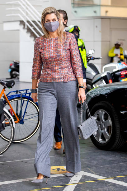 NLD: Queen Maxima Of The Netherlands Visits Voltunteers In The Hague