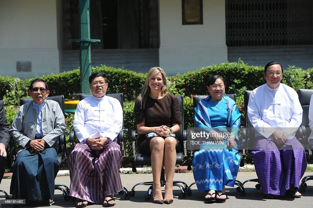 MYANMAR-NETHERLANDS-DIPLOMACY : News Photo