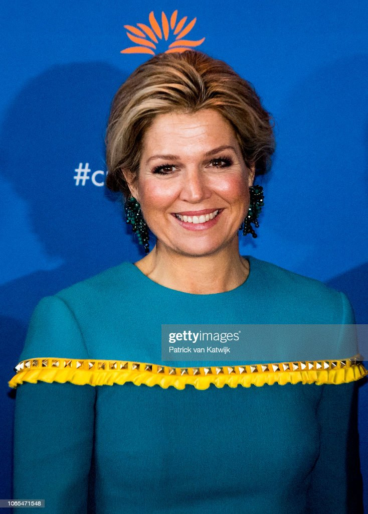 Queen Maxima Of The Netherlands Attends the Prince Bernhard Culture Award in Amsterdam : Nachrichtenfoto
