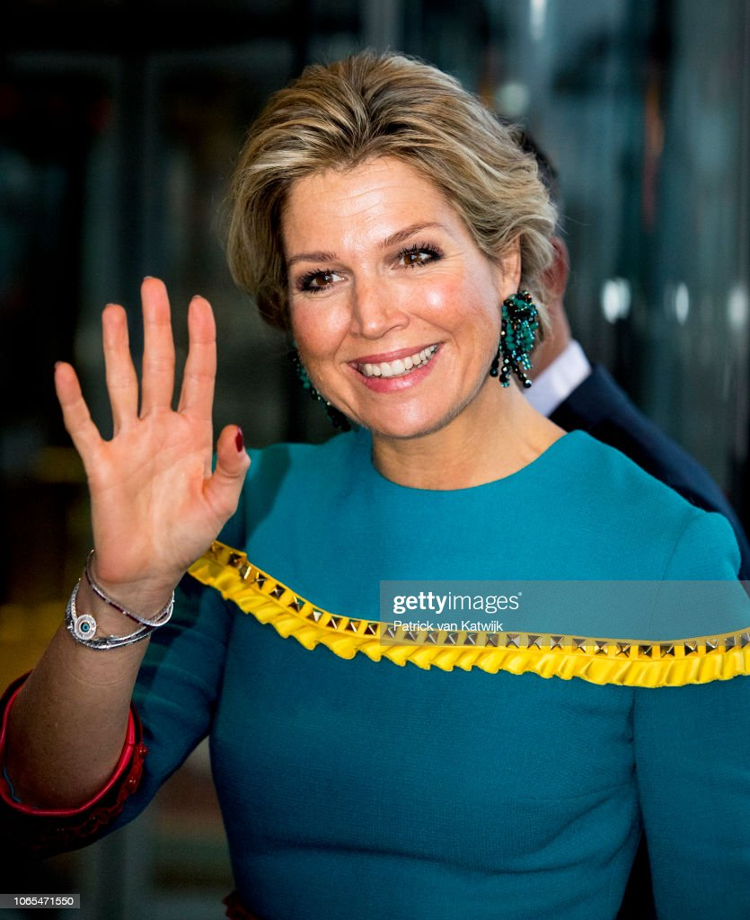 Queen Maxima Of The Netherlands Attends the Prince Bernhard Culture Award in Amsterdam : News Photo
