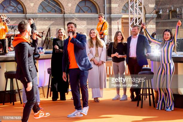 Queen Maxima of The Netherlands, Princess Ariane of The Netherlands, Princess Amalia of The Netherlands, Princess Alexia of The Netherlands and King...