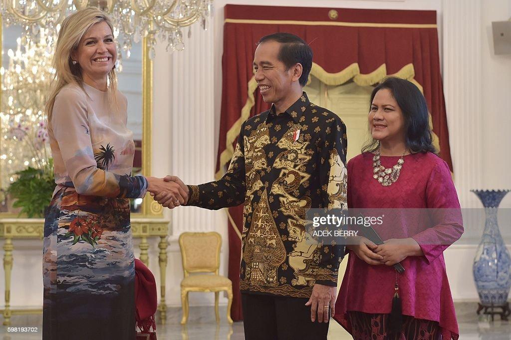 INDONESIA-NETHERLANDS-ROYALS-DIPLOMACY : News Photo