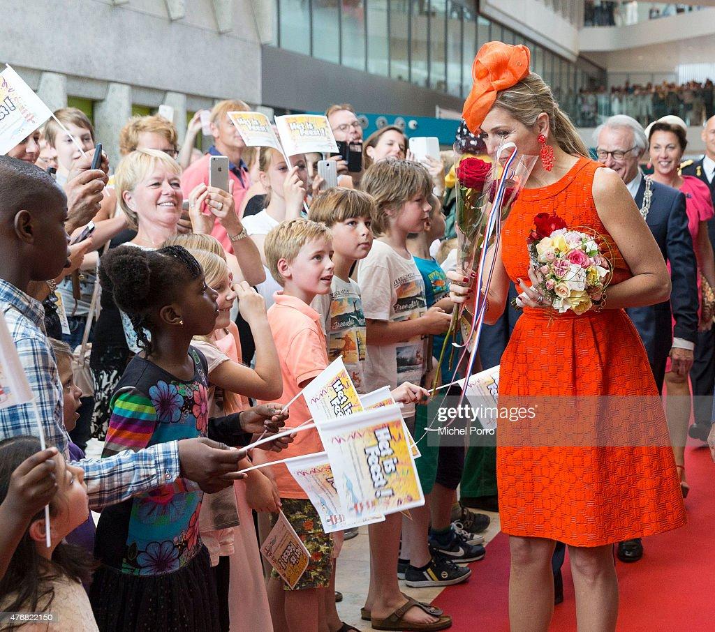 Queen Maxima Of The Netherlands Opens The Juliana Children's Hospital : News Photo