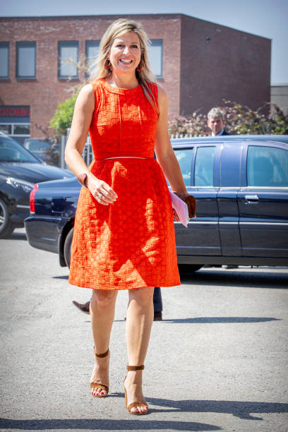 NLD: Queen Maxima Of The Netherlands Visits Technical Sector In Woerden And Apeldoorn