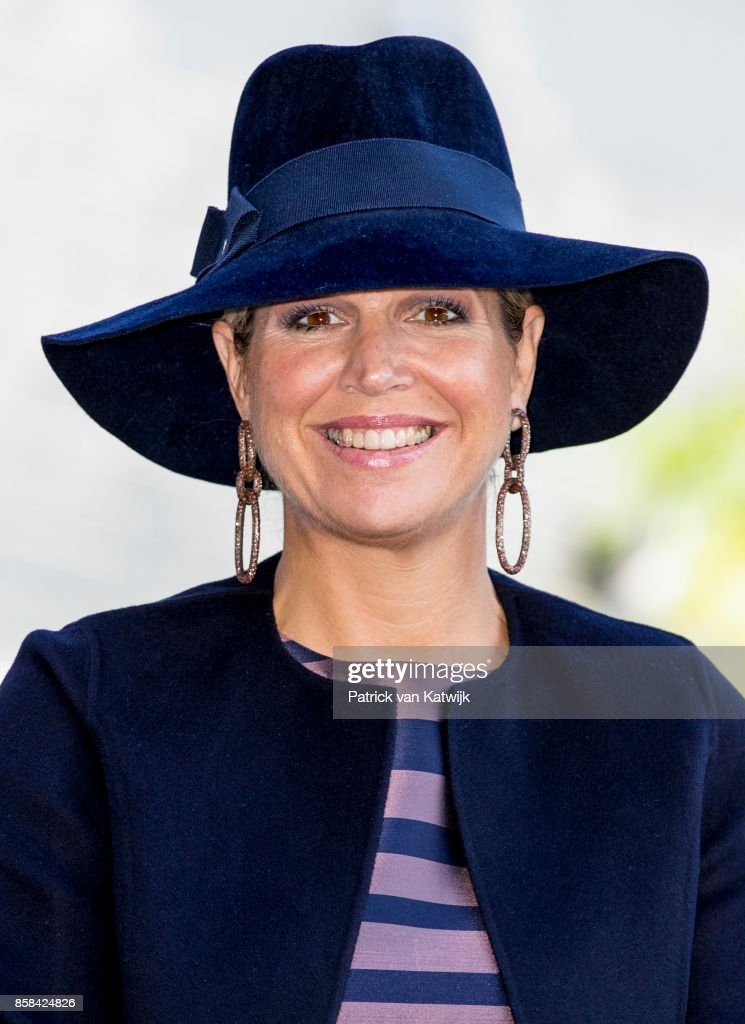 Queen Maxima  Of The Netherlands Attends The 5th Teachers' Congress In Amersfoort : News Photo