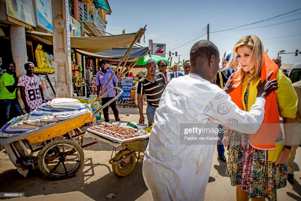Queen Maxima Of The Netherlands Visits Nigeria : Day Two : News Photo
