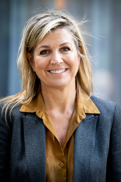 FRA: Queen Maxima Of The Netherlands Visits Funeral Sector In The Hague