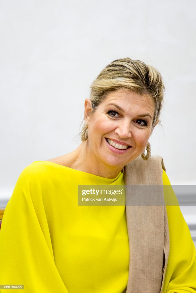 Queen Maxima Of The Netherlands Visits Nigeria : Day One : News Photo
