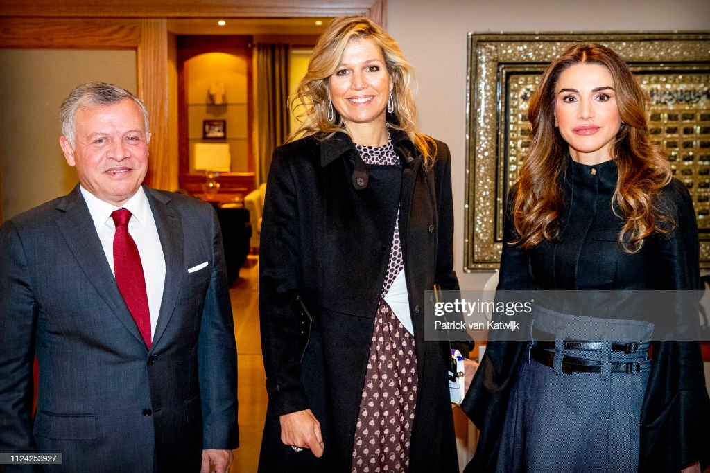queen-maxima-of-the-netherlands-visits-king-abdullah-of-jordan-and-picture-id1124253927