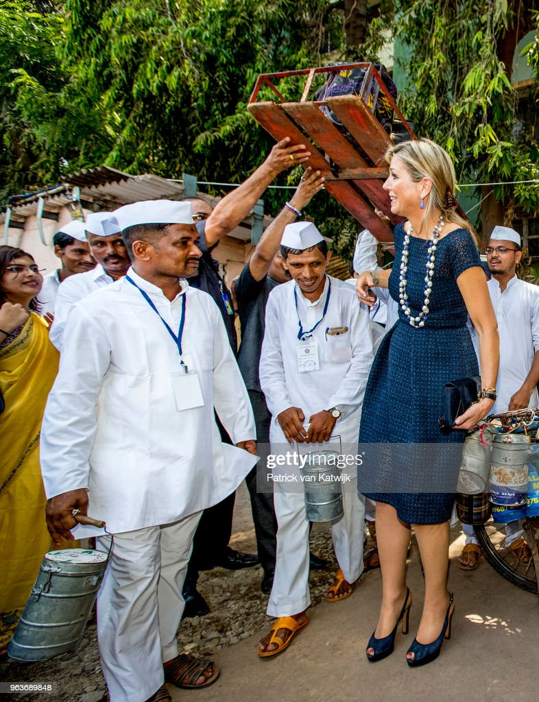 Queen Maxima Of The Netherlands Visits India - Day 3 : News Photo