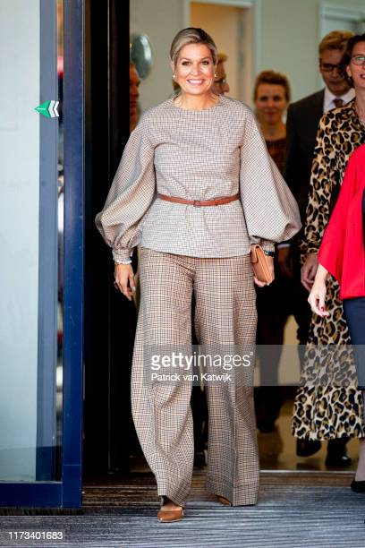 Queen Maxima of The Netherlands visits Mind organization that is committed to a psychologically healthy society and to support, understanding and...