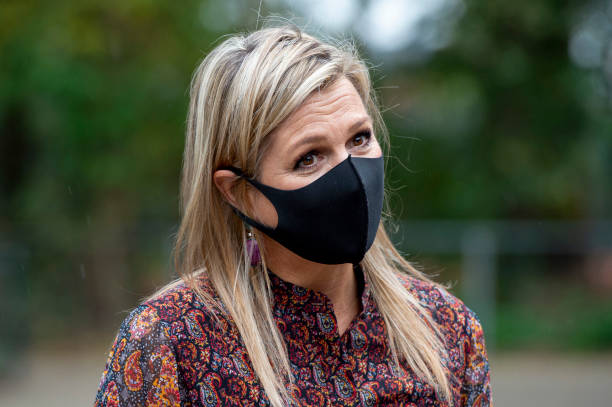 NLD: Queen Maxima Of The Netherlands Visits A Doctor Unit In Driebergen