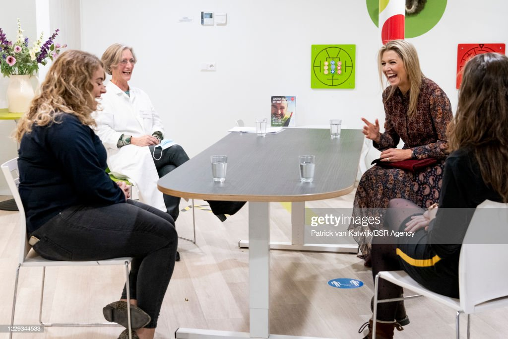 Queen Maxima Of The Netherlands Visits A Doctor Unit In Driebergen : News Photo