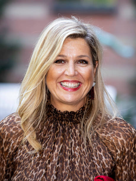 NLD: Queen Maxima Of The Netherlands  Visits The Halt Foundation In Rotterdam