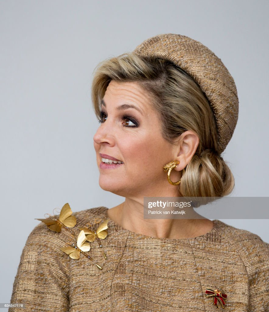 ing Willem-Alexander and Queen Maxima Visit Germany - Day 4 : News Photo