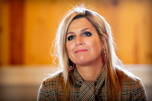 NLD: Queen Maxima Of The Netherlands Visits BovenIJ hospital In Amsterdam