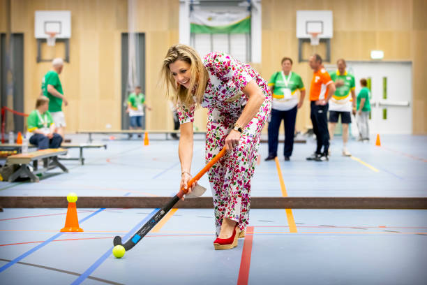NLD: Queen Maxima Of The Netherlands  Visits the The Special Olympics National Games (SONS2021) In The Hague