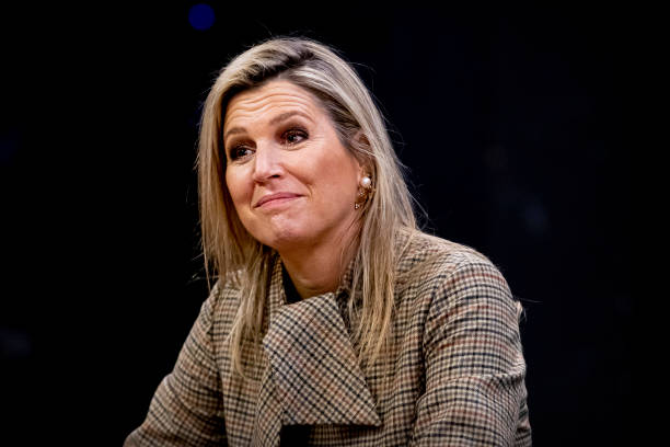 NLD: Queen Maxima Of The Netherlands Visits Theaters In Nijmegen