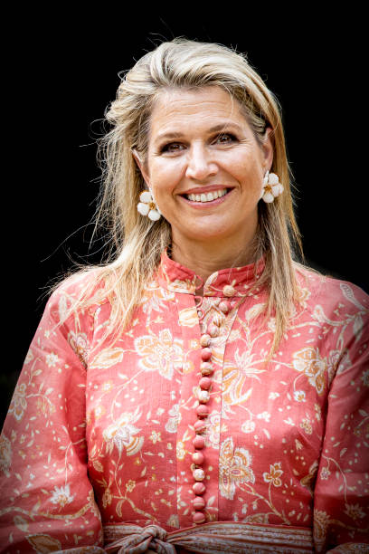 NLD: Queen Maxima Of The Netherlands Visits Oranje Foundation Project In Maarssen