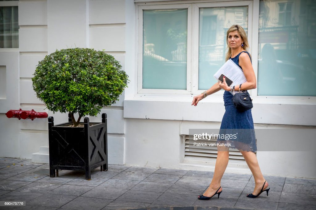Queen Maxima On A Three Day Visit In Vietman : Day Two : Nieuwsfoto's