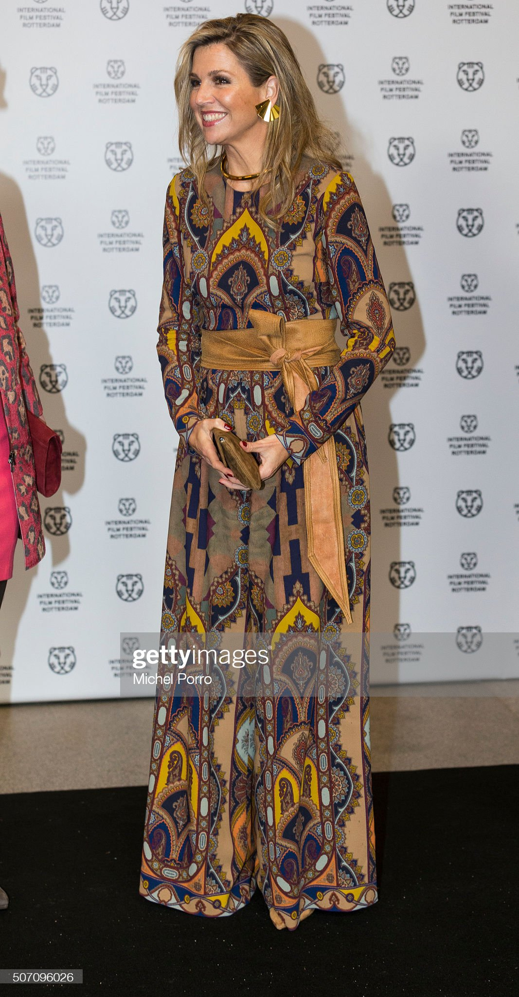 Queen Maxima Of The Netherlands Attends Opening Rotterdam International Film Festival : News Photo