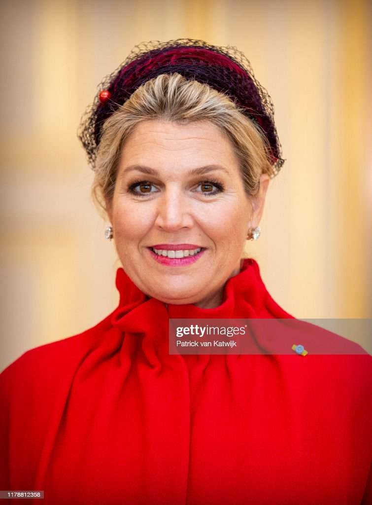 King Willem-Alexander and Queen Maxima receive President of Poland for an official visit in The Hague : News Photo