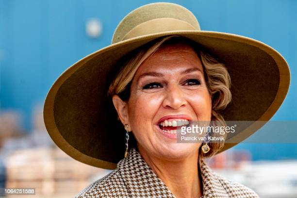 Queen Maxima of The Netherlands with President of Singapore Halimah Yacob and her husband Mohammed Abdullah Alhabshee visit the Horticultural Center...