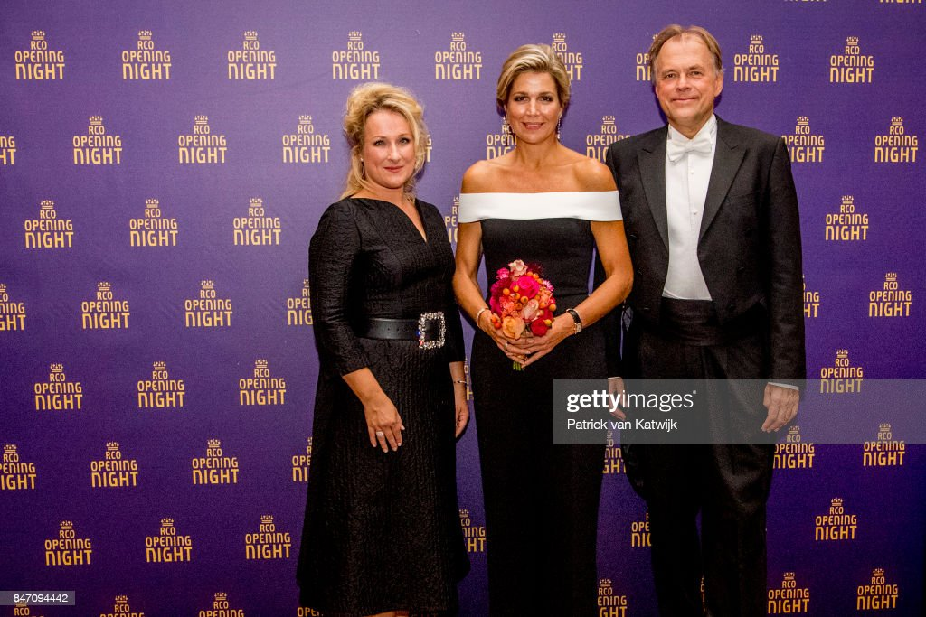 Queen Maxima Attends The Opening Of The New Season Of The Royal Concertgebouw Orchestra In Amsterdam : News Photo