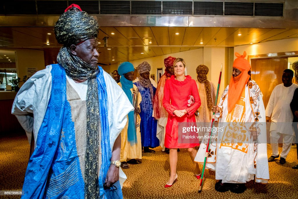 Queen Maxima Of The Netherlands Visits Nigeria : Day Three : Nieuwsfoto's