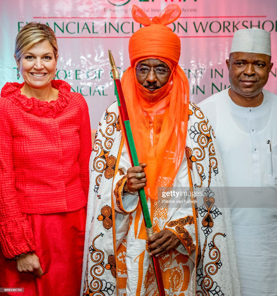 Queen Maxima Of The Netherlands Visits Nigeria : Day Three : News Photo