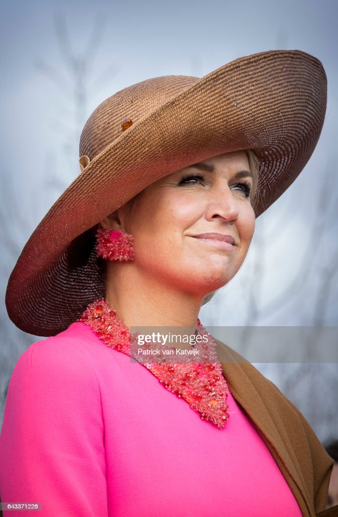 King Willem-Alexander Of The Netherlands And Queen Maxima Of The Netherlands Visit Farms And Villages : News Photo