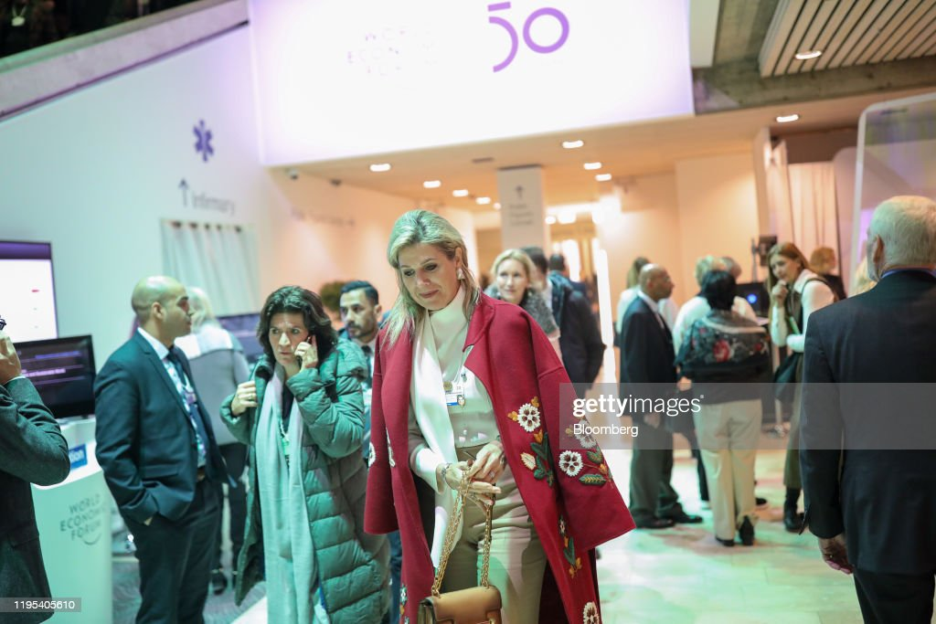 Day Three Of The World Economic Forum (WEF) 2020 : News Photo