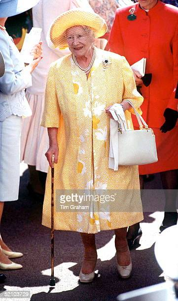 Queen Mother At Ascot