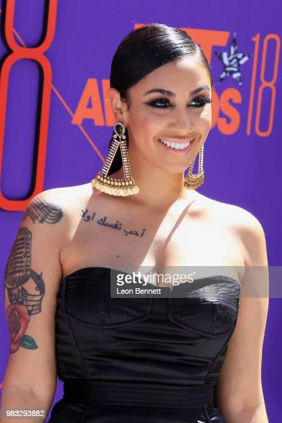 Queen Naija attends the 2018 BET Awards at Microsoft Theater on June 24 2018 in Los Angeles California