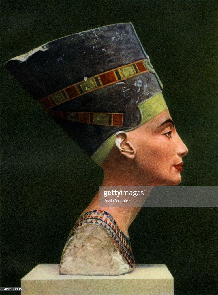 Queen Nefertiti (1410 BC-1330 BC), c1370 BC (1936). : News Photo
