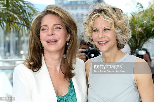 Queen Noor of Jordan and actress Meg Ryan attend the 'Countdown to Zero' Photo Call held at the Palais des Festivals during the 63rd Annual...