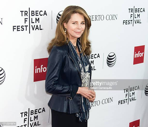 Queen Noor of Jordan attends the closing night screening of 'Goodfellas' during the 2015 Tribeca Film Festival at Beacon Theatre on April 25 2015 in...