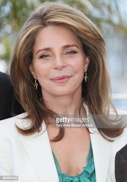 Queen Noor of Jordan attends the 'Countdown to Zero' Photo Call held at the Palais des Festivals during the 63rd Annual International Cannes Film...