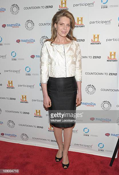 Queen Noor of Jordan attends the premiere of Countdown To Zero at the Paley Center for Media on July 20 2010 in New York City