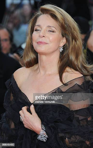 Queen Noor of Jordan attends the premiere of 'Countdown to Zero' held at the Palais des Festivals during the 63rd Annual International Cannes Film...