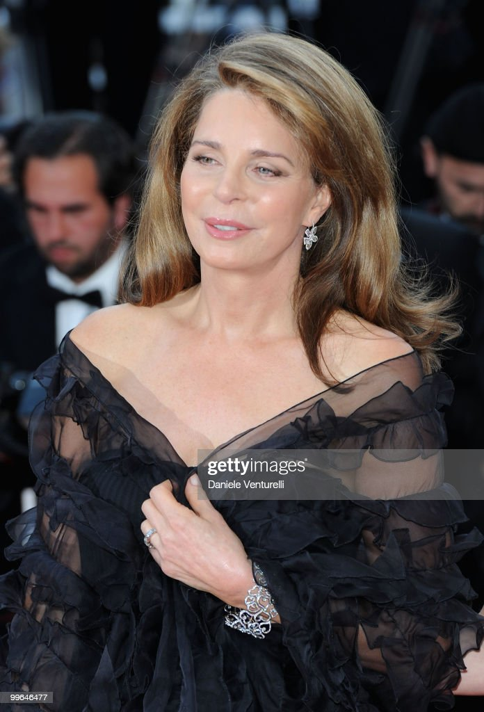 Queen Noor of Jordan attends the premiere of 'Countdown to Zero' held at the Palais des Festivals during the 63rd Annual International Cannes Film Festival on May 17, 2010 in Cannes, France.