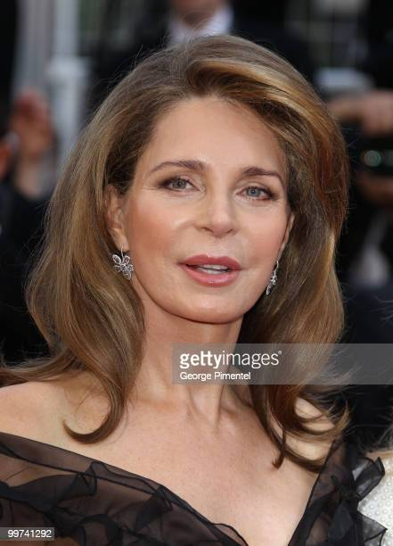 Queen Noor of Jordan attends the premiere of Countdown To Zero held at the Palais des Festivals during the 63rd Annual International Cannes Film...