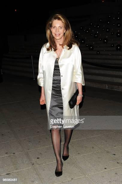 Queen Noor of Jordan attends the Vanity Fair party before the 2010 Tribeca Film Festival at the New York State Supreme Court on April 20 2010 in New...