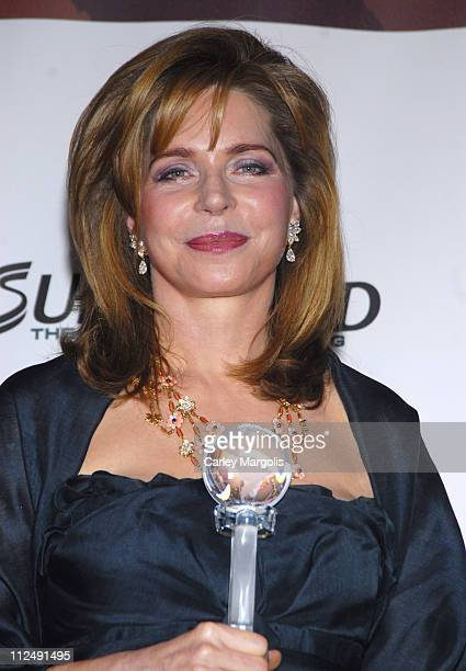 Queen Noor of Jordan during 3rd Annual Womens World Awards - Press Room at The Hammerstein Ballroom in New York City, New York, United States.