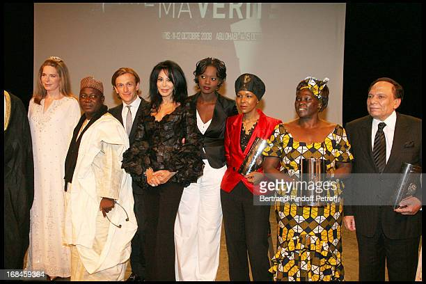 Queen Noor of Jordan Jeremy Gilley Yamina Benguigui Rama Yade Euzhan Palcy Wangari Maathai and Abdel Imam at 2nd International Encounters Of Cinema...