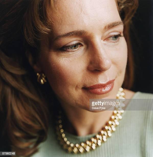 Queen Noor of Jordan the fourth wife of King Hussein of Jordan circa 1995